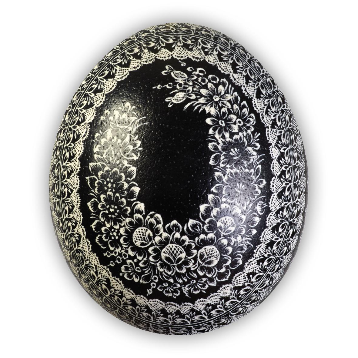 Velikonoční pštrosí kraslice